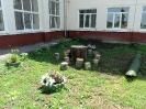 Школьный дворик
